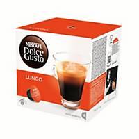 Caja de 16 cápsulas de café Dolce Gusto Lungo