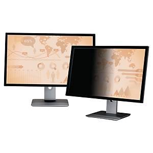 24  3M betekintésvédelmi monitorszűrő, szélesvásznú, 16:9, fekete