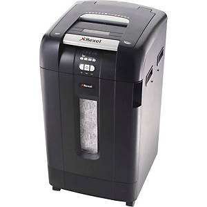 Dokumentförstörare Rexel Auto+ 750X, automatisk arkmatning, korsskärning