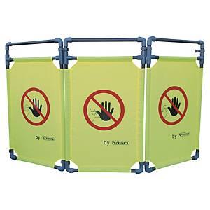 Barrière de protection ou de sécurité Viso Travolite - PVC/polyester - verte