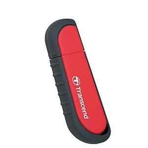 Memoria flash Transcend JetFlash V70 - USB 2.0 - 16 Gb - rojo
