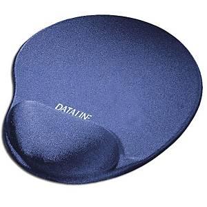 Tapete com apoio de pulsos para rato Dataline - licra - azul