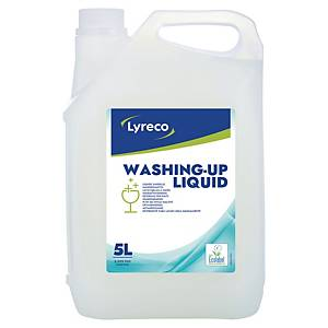 Handspülmittel Lyreco, ökologisch, Zitronenduft, Inhalt: 5 Liter