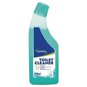 Čisticí prostředek Lyreco ECO na toalety modrý 750 ml