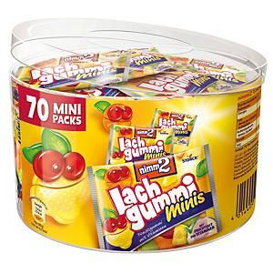 Lachgummi minis Nimm2, 10,5 g, Dose à 70 Stück