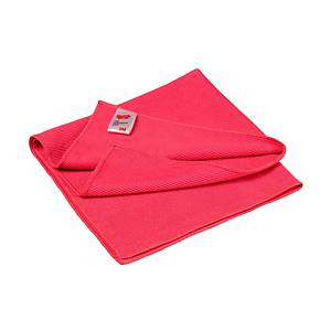 3M essential microfiber cleaning cloth red - pack of 10