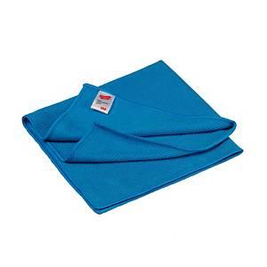 Chiffon microfibres 3M Essential, 38 x 21 cm, bleu, le paquet de 10 chiffons