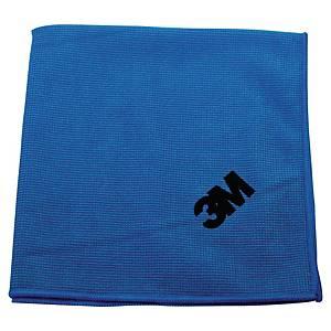 Mikrofiberklud 3M Scotch Brite Essential, blå, pakke a 10 stk.