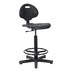 Krzesło specjalistyczne NOWY STYL Silver, czarne