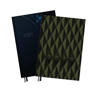 Kalendarz TOP-2000 Setalux Man A5, dzienny, miks wzorów