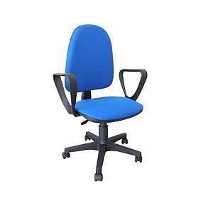 Cadeira com mecanismo de contacto permanente Archivo 2000 Ourizo - azul