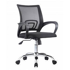 Cadeira com mecanismo basculante Archivo 2000 Rebezo - preto