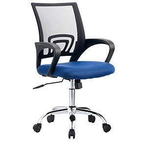 Cadeira com mecanismo basculante Archivo 2000 Rebezo - azul