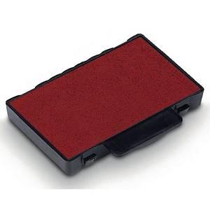 Tampons encreurs de rechange Trodat 6/50, rouge, Emb. de 2 pces.