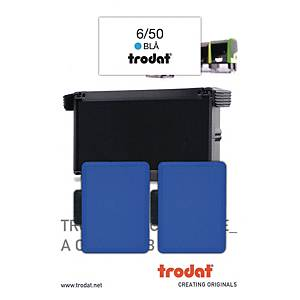 PK2 TRODAT 6/50 R/STAMP INK PAD RED