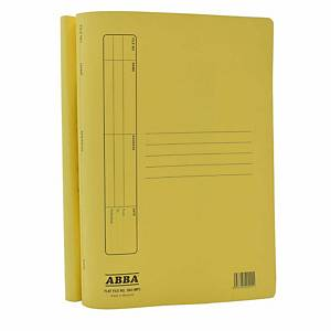 ABBA Standard Manila Card Folder Yellow