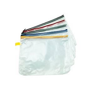 A4 Mesh Zip Bags - Pack of 5