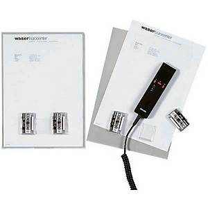 Dossiers pour dictée A4, PVC 0,2 mm, lisse transparent