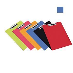 Bantex PVC Standard FC Clipboard Cobalt Blue