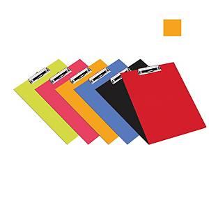 Bantex PVC Standard FC Clipbord Orange