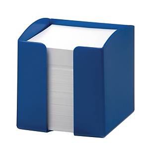 Durable Note Box 90 X 90mm Capacity 800 Paper Notes Blue