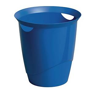 Durable Waste Basket Blue - 16l Capacity