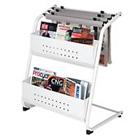 WRITEBEST NEWSPAPER & MAGAZINE RACK 700 X 900 X 500MM