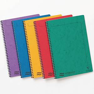 Europa Notemaker Notebooks A4 Assorted Colours - Pack of 10