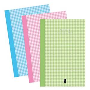 VENUS HV51007 NOTEBOOK 21.5 X 33CM 70G 100 SHEETS ASSORTED