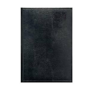 Traditional heti határidőnapló A4 - fekete, 20,5 x 29 cm, 144 oldal