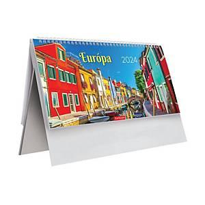 Asztali naptár T063, Európa