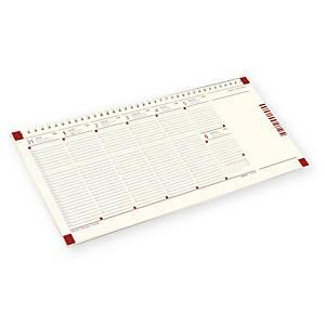 Blokkos asztali naptártömb A30