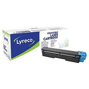 Lasertoner Lyreco Kyocera TK-590C kompatibel, 5.000 sider, cyan