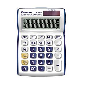 TIMEBIRD SJC-330B DESKTOP CALCULATOR BLUE