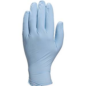 Venitactyl gloves non powdered, blue, size 6/7, box of 100