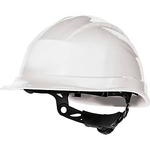 Deltaplus Quartz III Safety Helmet White
