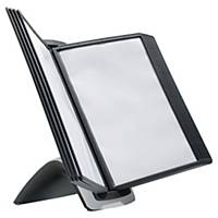 Durable Sherpa Style Table 10 Display Panel System Black