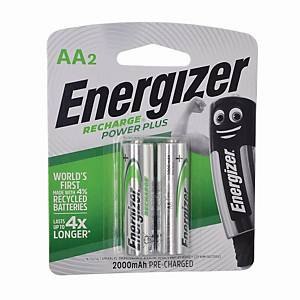 Energizer HR15AA Recharge Batteries - Pack of 2