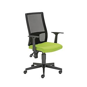 FILLO MESH AS CHAIR W FIX ARMRES GREEN