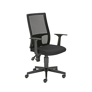 FILLO MESH AS CHAIR W FIX ARMRES  BLACK