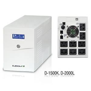 CLEANLINE D-2000L UPS 2000VA/1200W WHITE