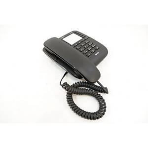 Stolový drôtový telefón Gigaset DA510, čierny