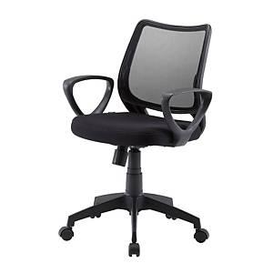WORKSCAPE เก้าอี้สำนักงาน RIVA ZR-1003 สีดำ