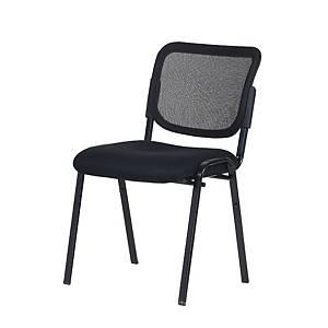 WORKSCAPE เก้าอี้จัดเลี้ยง/เก้าอี้พักคอย EMMA สีดำ