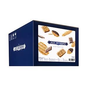 Jules Destrooper Jules Selection koekjes, 4 variëteiten, doos van 300 koekjes