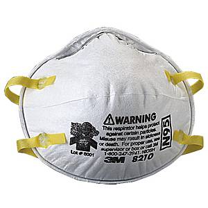 3M 8210 N95 PARTICULATE RESPIRATOR PACK OF 20