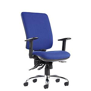 Senza Ergonomic Chair High Back Blue - Delivery only
