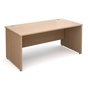 Panel Ended Desk Beech