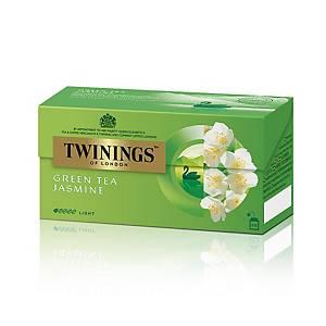 TWININGS 川寧 茉莉花綠茶茶包(信封裝) - 25包裝
