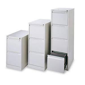 Cajón archivador Bisley Premium - 2 cajones - 470 x 711 mm - gris
